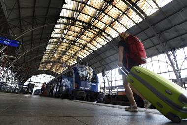 Hala pražského hlavního nádraží