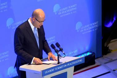 Bohuslav Sobotka na summitu o boji proti terorismu