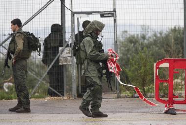 Izraelští vojáci zastřelili Palestinku, která se chystala zaútočit