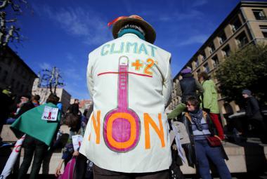 Demonstrace v Marseille za přísnější klimatická opatření
