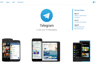 Síť Telegram