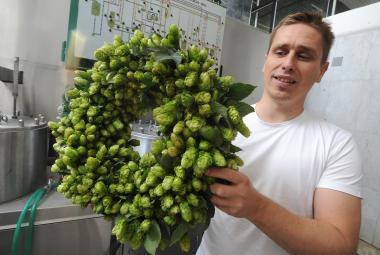 Jan Hervert, sládek pokusného pivovaru Chmelařského institutu Žatec