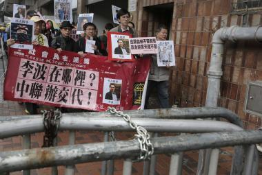 Protesty kvůli zmizení knihkupců
