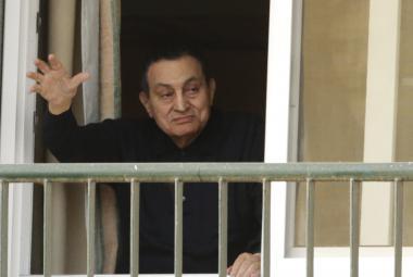 Egyptský prezident Husní Mubarak