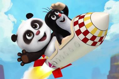 Čínskou návštěvu oslavil i Krteček. Podle FAMU je prodej figurky nešťastný