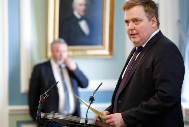 Islandský premiér Sigmundur Davíd Gunnlaugsson