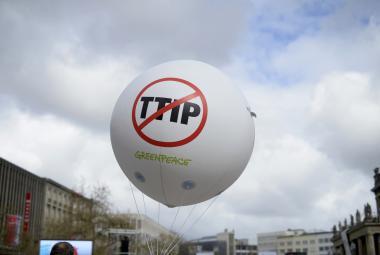 Hannoverský protest proti TTIP