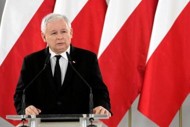 Lídr konzervativců Jaroslaw Kaczyński