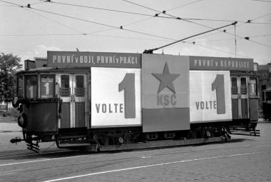 Předvolební kampaň KSČ ve volbách 1946