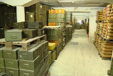 Sklad munice a zbraní ve Slatině