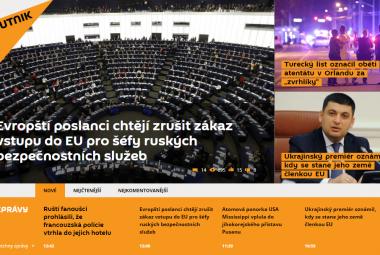 Zpravodajský web Sputnik