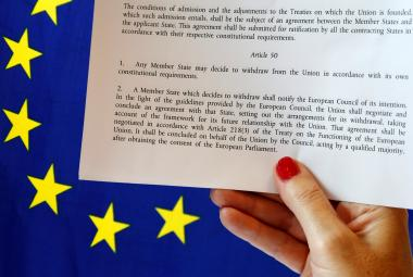 Článek 50 Lisabonské smlouvy