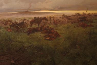 Krev pod kopyty koní. U Hradce Králové vzpomínali 150 let kruté bitvy
