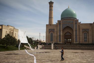 Hlavní město Uzbekistánu Taškent