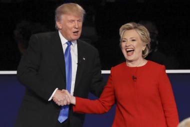 Duel Clintonové s Trumpem