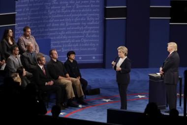 Debata Trump-Clintonová v St. Louis
