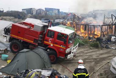 Likvidace tábora v Calais