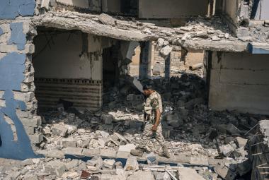 Člen sunnitské milice
