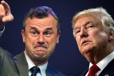Norbert Hofer a Donald Trump