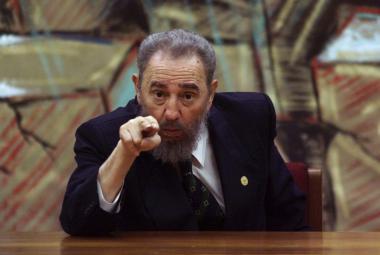 El Comandante revoluci dosloužil. Fidel Castro je po smrti