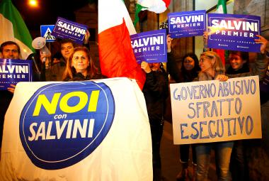 Odpůrci Renziho reformy