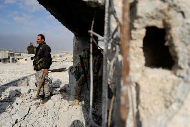 Síly loajální Asadovi v Aleppu