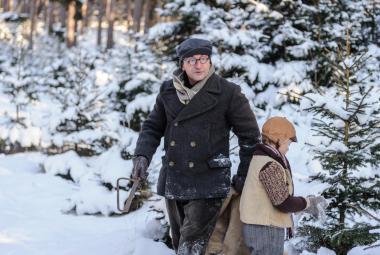 Po strništi bos chodí Svěrák i v zimě. Kvůli posledním záběrům