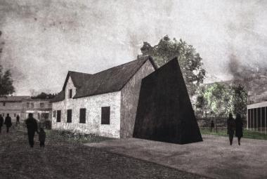 Koncept Památníku Jana Palacha ve Všetatech