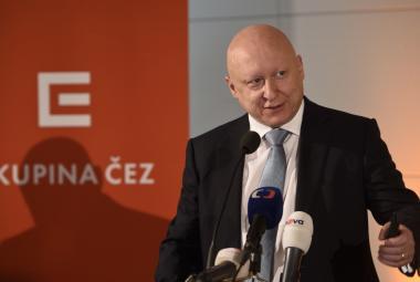Předseda představenstva a generální ředitel ČEZ Daniel Beneš