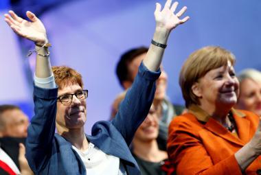 Lídryně sárské CDU Annegret Krampová-Karrenbauerová