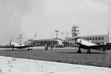 Ruzyňské letiště v roce 1938
