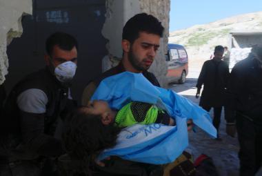 Údajný chemický útok v Sýrii