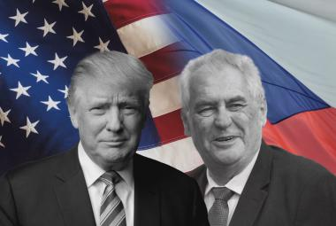 Donald Trump a Miloš Zeman