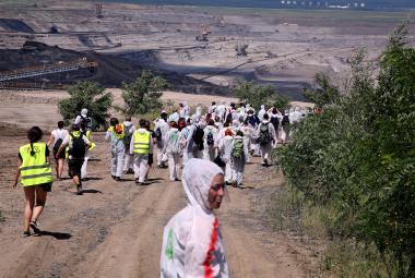 Za vstup do povrchového dolu Bílina hrozí aktivistům pokuty až 15 tisíc