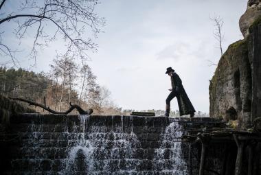 Začátek vodníků v Čechách. Ondřej Havelka natáčí Hastrmana
