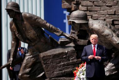 Donald Trump ve Varšavě