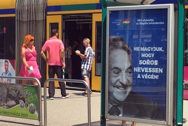 Kampaň proti Sorosovi v Maďarsku