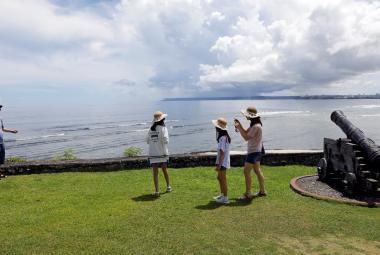 Turisté na Guamu