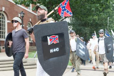 Bělošští radikálové v USA
