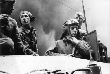 Sovětští okupanti v Praze 21. září 1968