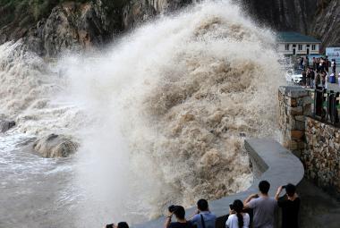 Tajfun Talim na jihu Číny