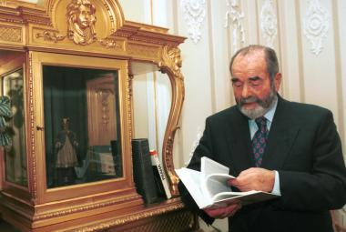 Pavel Tigrid na ministerstvu kultury (1994)