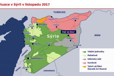 Situace v Sýrii v listopadu 2017