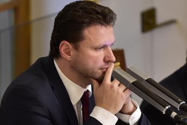 Předseda sněmovny Radek Vondráček (ANO)