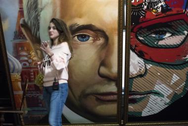 Putin jako superhrdina