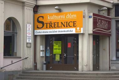 Kulturní dům Střelnice v Hradci Králové - místo sjezdu ČSSD