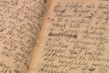Skaut si psal za války deníky ve starořečtině. Odborníci je po 70 letech přeložili