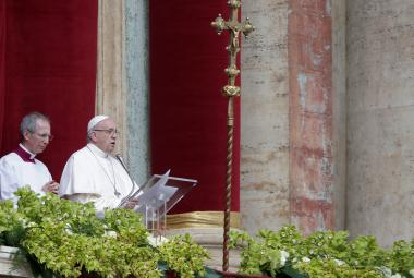 Urbi et orbi: Papež vyzval k solidaritě a dialogu mocné i bezmocné