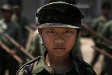 Vojačka z kačjinské osvobozenecké armády