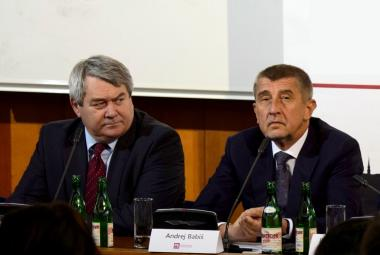 Vojtěch Filip a Andrej Babiš
